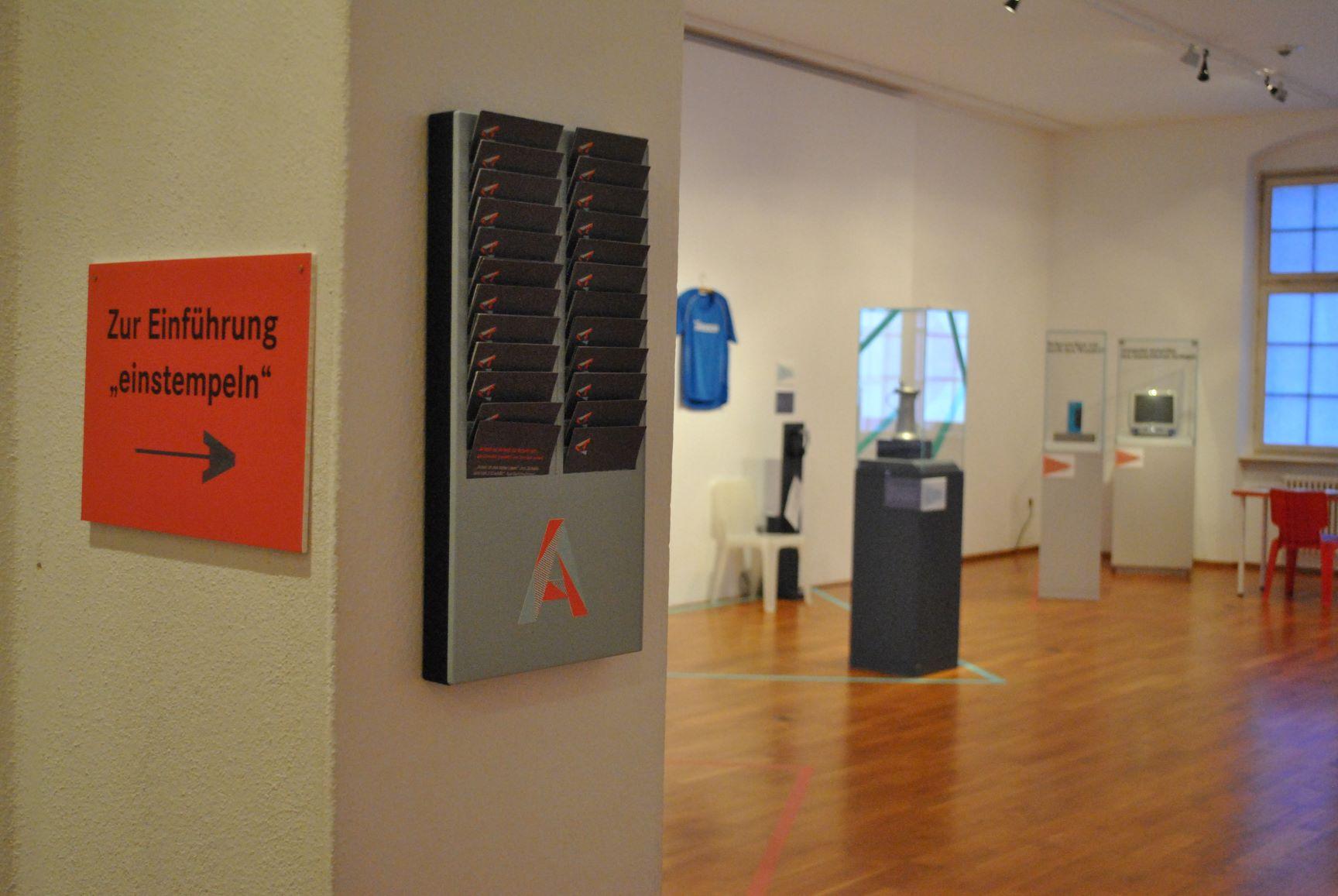 Blick in die Ausstellung im Museum der Alltagskultur, Waldenbuch