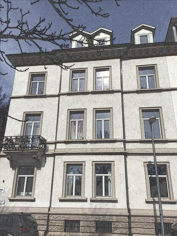 Aktuelles Foto des Hauses Faulerstraße 8.