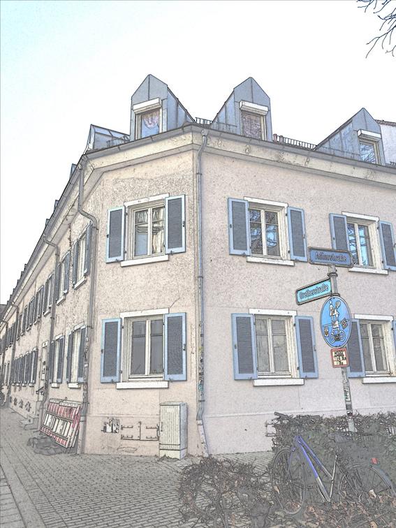 Aktuelles Foto der Faulerstraße.
