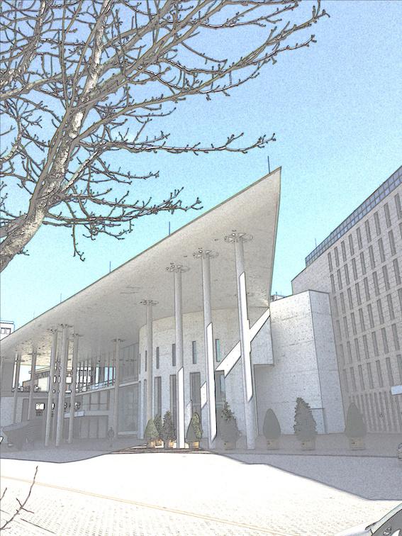 Aktuelles Foto des Konzerthauses.