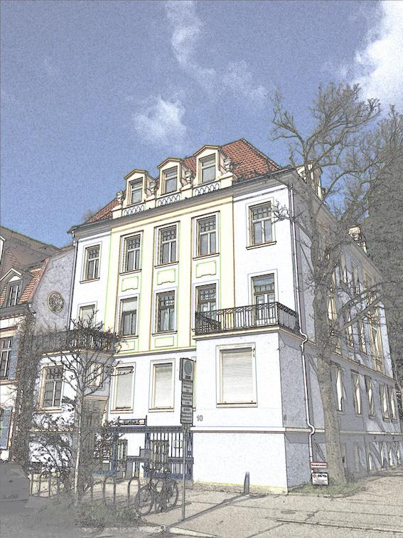 Aktuelles Foto des Hauses Wilhelmstraße 10.